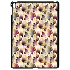 Random Leaves Pattern Background Apple Ipad Pro 9 7   Black Seamless Case by BangZart