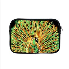 Unusual Peacock Drawn With Flame Lines Apple Macbook Pro 15  Zipper Case by BangZart