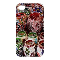 Colorful Oriental Candle Holders For Sale On Local Market Apple Iphone 4/4s Premium Hardshell Case by BangZart