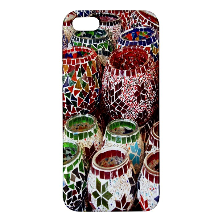 Colorful Oriental Candle Holders For Sale On Local Market Apple iPhone 5 Premium Hardshell Case