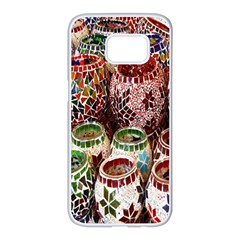 Colorful Oriental Candle Holders For Sale On Local Market Samsung Galaxy S7 Edge White Seamless Case