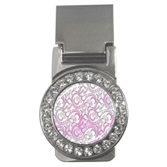 Floral Pattern Background Money Clips (cz)  by BangZart
