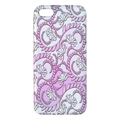 Floral Pattern Background Apple Iphone 5 Premium Hardshell Case by BangZart