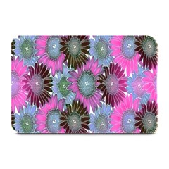 Floral Pattern Background Plate Mats by BangZart
