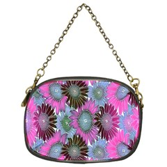 Floral Pattern Background Chain Purses (one Side)  by BangZart