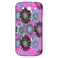 Floral Pattern Background Samsung Galaxy S3 S Iii Classic Hardshell Back Case by BangZart