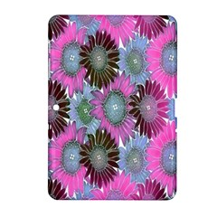 Floral Pattern Background Samsung Galaxy Tab 2 (10 1 ) P5100 Hardshell Case  by BangZart