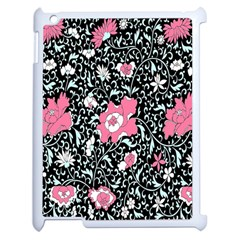 Oriental Style Floral Pattern Background Wallpaper Apple Ipad 2 Case (white) by BangZart