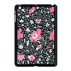 Oriental Style Floral Pattern Background Wallpaper Apple Ipad Mini Case (black) by BangZart