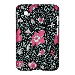 Oriental Style Floral Pattern Background Wallpaper Samsung Galaxy Tab 2 (7 ) P3100 Hardshell Case  by BangZart