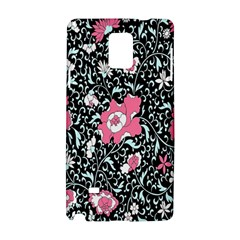 Oriental Style Floral Pattern Background Wallpaper Samsung Galaxy Note 4 Hardshell Case by BangZart
