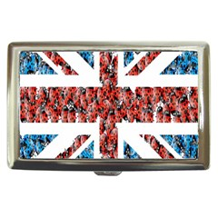 Fun And Unique Illustration Of The Uk Union Jack Flag Made Up Of Cartoon Ladybugs Cigarette Money Cases by BangZart