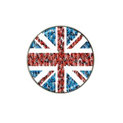 Fun And Unique Illustration Of The Uk Union Jack Flag Made Up Of Cartoon Ladybugs Hat Clip Ball Marker