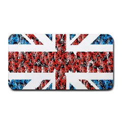 Fun And Unique Illustration Of The Uk Union Jack Flag Made Up Of Cartoon Ladybugs Medium Bar Mats by BangZart