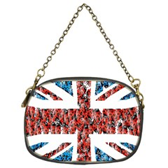 Fun And Unique Illustration Of The Uk Union Jack Flag Made Up Of Cartoon Ladybugs Chain Purses (one Side)  by BangZart