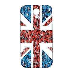 Fun And Unique Illustration Of The Uk Union Jack Flag Made Up Of Cartoon Ladybugs Samsung Galaxy S4 I9500/i9505  Hardshell Back Case by BangZart