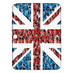 Fun And Unique Illustration Of The Uk Union Jack Flag Made Up Of Cartoon Ladybugs Samsung Galaxy Tab 3 (10 1 ) P5200 Hardshell Case  by BangZart