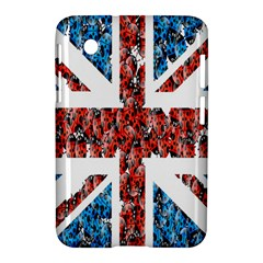 Fun And Unique Illustration Of The Uk Union Jack Flag Made Up Of Cartoon Ladybugs Samsung Galaxy Tab 2 (7 ) P3100 Hardshell Case  by BangZart