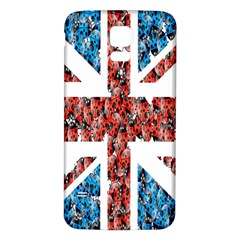 Fun And Unique Illustration Of The Uk Union Jack Flag Made Up Of Cartoon Ladybugs Samsung Galaxy S5 Back Case (white) by BangZart