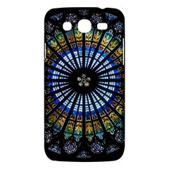 Stained Glass Rose Window In France s Strasbourg Cathedral Samsung Galaxy Mega 5 8 I9152 Hardshell Case  by BangZart