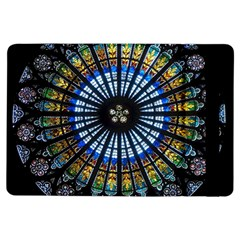 Stained Glass Rose Window In France s Strasbourg Cathedral Ipad Air Flip