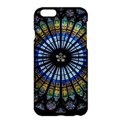 Stained Glass Rose Window In France s Strasbourg Cathedral Apple Iphone 6 Plus/6s Plus Hardshell Case