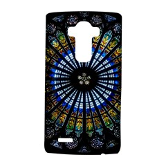 Stained Glass Rose Window In France s Strasbourg Cathedral Lg G4 Hardshell Case