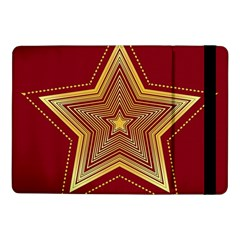 Christmas Star Seamless Pattern Samsung Galaxy Tab Pro 10 1  Flip Case by BangZart