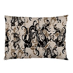 Dragon Pattern Background Pillow Case (two Sides)