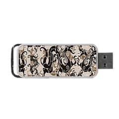 Dragon Pattern Background Portable Usb Flash (two Sides)