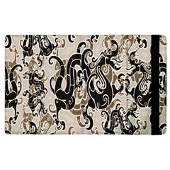 Dragon Pattern Background Apple Ipad 2 Flip Case by BangZart