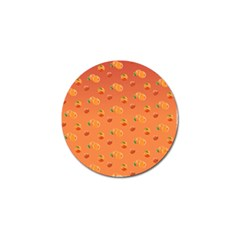 Peach Fruit Pattern Golf Ball Marker (10 Pack) by paulaoliveiradesign