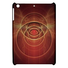 The Rusty Red Fractal Scarab Of Fiery Old Man Ra Apple Ipad Mini Hardshell Case by jayaprime