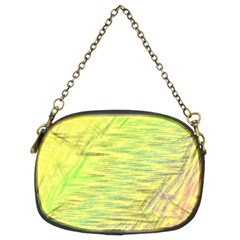 Paint On A Yellow Background                   Chain Purse (two Sides) by LalyLauraFLM