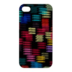 Colorful Horizontal Paint Strokes                        Apple Iphone 4/4s Hardshell Case