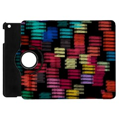 Colorful Horizontal Paint Strokes                   Apple Ipad 3/4 Flip 360 Case