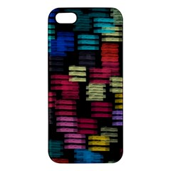 Colorful Horizontal Paint Strokes                   Samsung Galaxy Note 3 Leather Folio Case by LalyLauraFLM