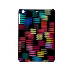 Colorful Horizontal Paint Strokes                   Apple Ipad Air Hardshell Case by LalyLauraFLM