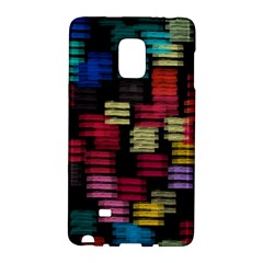 Colorful Horizontal Paint Strokes                   Samsung Galaxy Note 4 Leather Folio by LalyLauraFLM