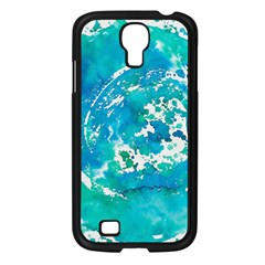 Blue Watercolors Circle                    Sony Xperia V Hardshell Case by LalyLauraFLM
