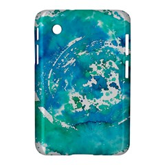 Blue Watercolors Circle                    Apple Iphone 5c Hardshell Case by LalyLauraFLM
