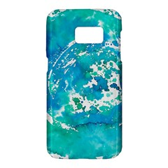 Blue Watercolors Circle                    Lg G4 Hardshell Case by LalyLauraFLM