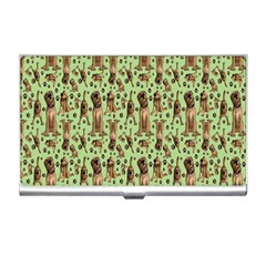 Puppy Dog Pattern Business Card Holders