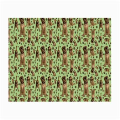 Puppy Dog Pattern Small Glasses Cloth (2 Side) by BangZart