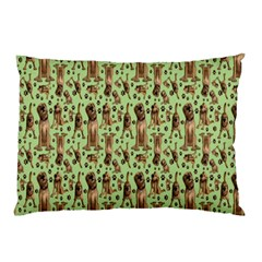 Puppy Dog Pattern Pillow Case (two Sides)