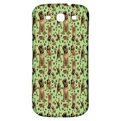 Puppy Dog Pattern Samsung Galaxy S3 S Iii Classic Hardshell Back Case by BangZart