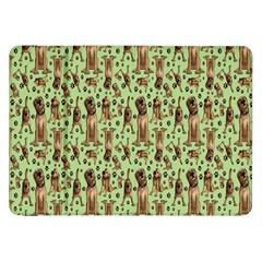 Puppy Dog Pattern Samsung Galaxy Tab 8 9  P7300 Flip Case by BangZart