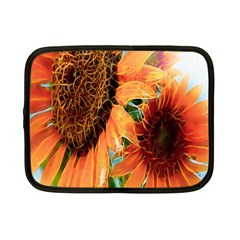 Sunflower Art  Artistic Effect Background Netbook Case (small)  by BangZart