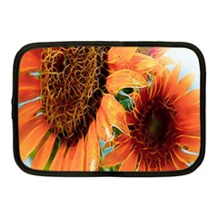 Sunflower Art  Artistic Effect Background Netbook Case (medium)