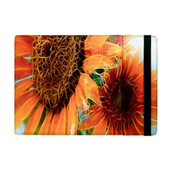 Sunflower Art  Artistic Effect Background Ipad Mini 2 Flip Cases by BangZart